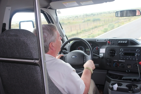 George, our tour guide/driver